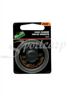 Fox rychlovýměnné zátěže Edges Kwick Change Pop Up Weights BB (CAC513) - 2