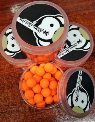 Monkey Climber plovoucí boilies Noddy Pops (oranžová barva) - 2