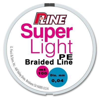 P-Line šňůra Super Light PE Braided Line - 2
