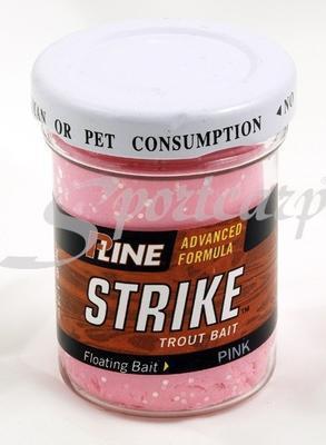 P-Line těsto na pstruhy s glitrem Strike Trout Bait oranžová - 2