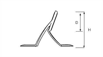 Fuji třípatkové očka BKWAG Three Leg K Series Guides - 2
