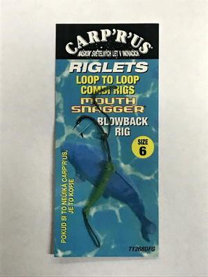 Carp R Us hotové návazce Loop To Loop Blowback Rig - 2