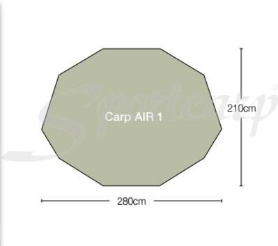 Kampa zimní přehoz na bivak Carp Air 1 (BV1001) - 2