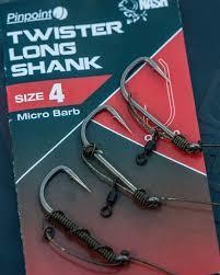 Nash háčky Pinpoint Twister Long Shank - 2