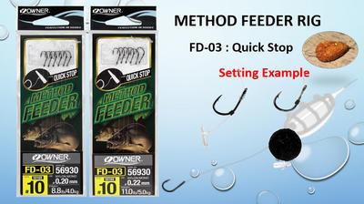 Owner hotové návazce Method Feeder - 2