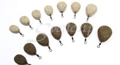 Nash zátěž Flat Pear Gravel/Clay 3Oz 85 g (T2304) - 2
