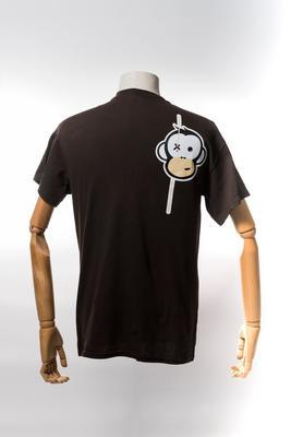 Monkey Climber tričko Streetwise Shirt Brown - 2