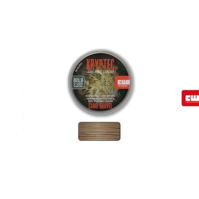 Carp Whisperer těžká šňůra Kryptec Lead Free Leader Weed zelená 80lb 1,2 mm (KLW) - 2