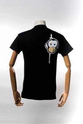Monkey Climber tričko Streetwise Shirt Black - 2
