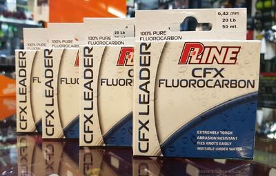 P-Line fluorokarbon CFX Fluorocarbon Leader 0,42 mm 20 lb (750186211) - 2