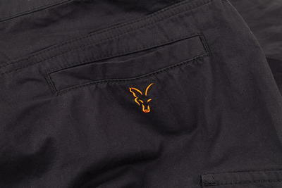 Fox kraťasy Collection Black & Orange Combat Shorts - 2