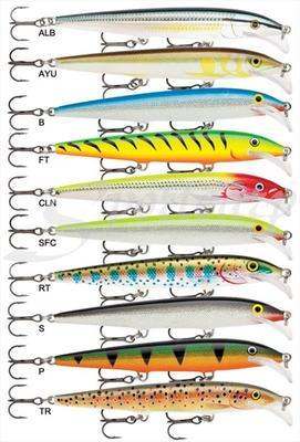 Scatter Rap Minnow 11YP (SCRM11YP) - 2