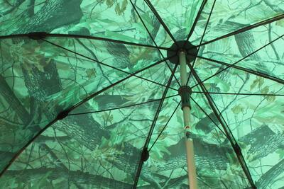 Delphin deštník PVC s prodlouženou bočnicí 250 cm/kamufláž (435001CAM) - 2