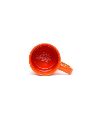 Fortis keramický hrnek See Deeper Mug Orange (MG02) - 2