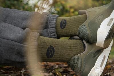 Korda merino ponožky Kore Merino Wool Sock Black vel. 42-46 (KCL321) - 2
