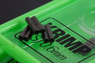 Korda náhradní svorky Krimps 0,7 mm (KSK07) - 2