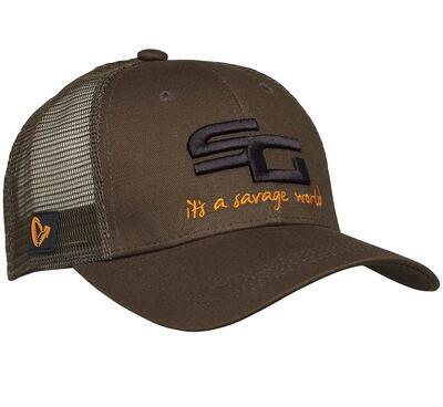 Savage Gear kšiltovka SG4 Cap Olive Green (73711) - 2
