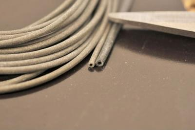 Korda silikonová hadička Silicone Tubing Green - 2