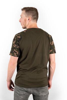 Fox tričko Camo/Khaki Chest Print T-Shirt vel. M (CFX014) - 2