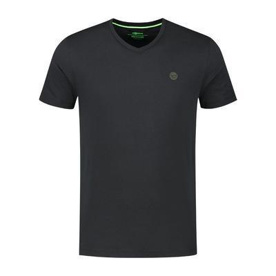 Korda tričko Kore V Neck Tee Black - 2
