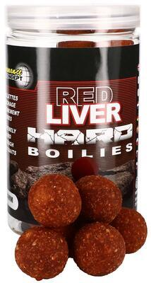 Starbaits tvrzené boilies Red Liver Hard Boilies - 2