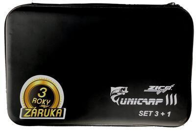 Zico Sada hlásičů Unicarp III (3 indik. + 1 příjm. + kufřík) (UIII 3) - 2
