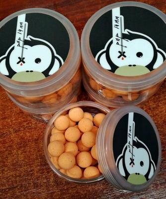 Monkey Climber plovoucí boilies Noddy Pops (oranžová barva) - 3