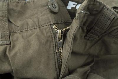 Fox kraťasy Collection Green & Silver Combat Shorts - 3