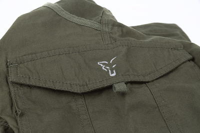 Fox kalhoty Collection Green & Silver Combat Trousers - 3