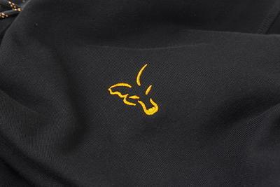 Fox mikina s kapucí Orange & Black Hoodie - 3