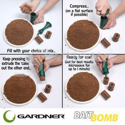 Gardner tvořič návnad Bait Bomb - 3