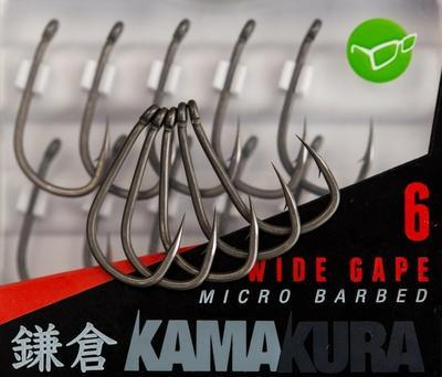 Korda háčky Kamakura Wide Gape Hooks - 3