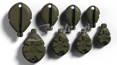 Angletec zátěže Dynamic Grip Lead System - 3