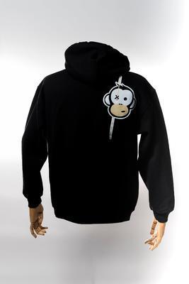 Monkey Climber mikina s kapucí Streetwise Hoodie - 3