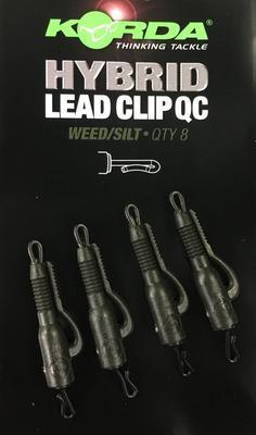 Korda klipy na olova QC Hybrid Lead Clip - 3