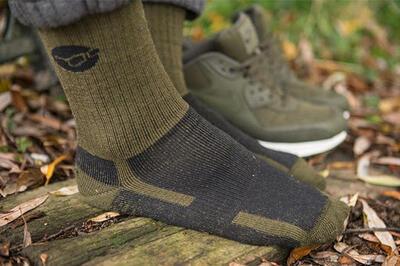 Korda merino ponožky Kore Merino Wool Sock Black vel. 42-46 (KCL321) - 3
