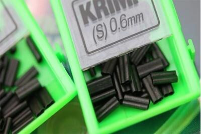 Korda náhradní svorky Krimps 0,7 mm (KSK07) - 3
