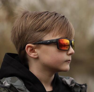 Fortis polariční brýle Junior Bays Brown Fire XBlok (JB001) - 3