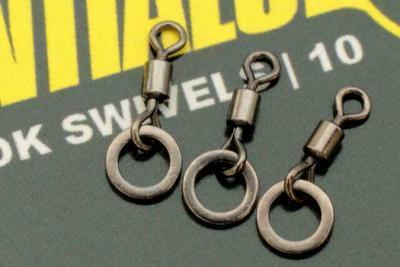 Korda mikroobratlíky Micro Rig Ring Swivels - 3