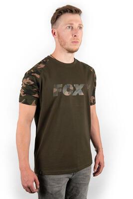 Fox tričko Camo/Khaki Chest Print T-Shirt vel. M (CFX014) - 3