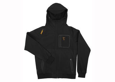 Fox mikina Orange & Black Shell Hoodie - 4