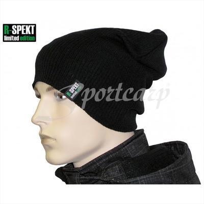 R-Spekt kulich Slouch Beanie Style černý (76000) - 4