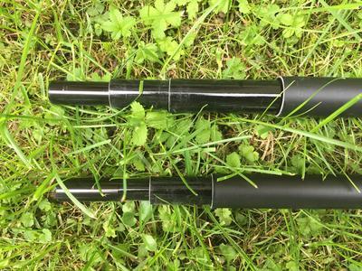 Behr podběráková tyč Fiberglas Landing Net Handle - 4