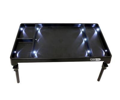 CarpPro stolek s osvětlením LED Bivvy Table (CPW001) - 4