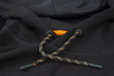 Fox mikina s kapucí Orange & Black Hoodie - 4