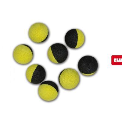 Carp Whisperer plovoucí pěnové nástrahy Two Tone Zig Balls - 4