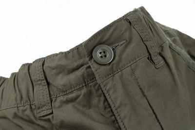 Fox kalhoty Collection Green & Silver Combat Trousers - 4