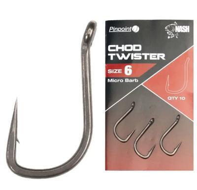 Nash háčky Pinpoint Chod Twister - 4