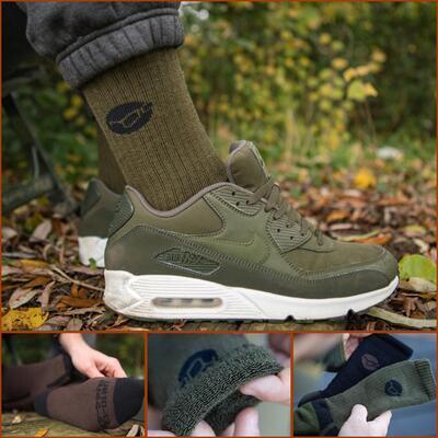 Korda merino ponožky Kore Merino Wool Sock Black vel. 42-46 (KCL321) - 4