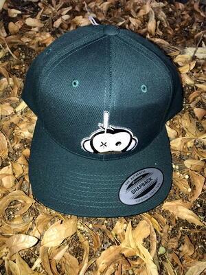 Monkey Climber kšiltovka Logo Patch Snapback Green - 4